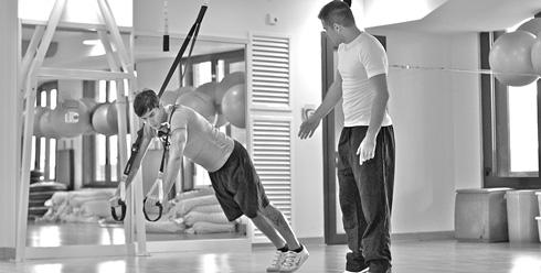 Esercizio che fa parte dell'allenamento funzionale