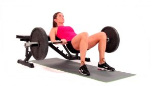 Hip Thrust con bilanciere